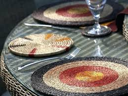 placemats for a round table making for round table tableware placemats placemats for a round table