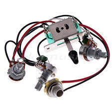 335 guitar wiring harness guitar wiring harness kit 5 way switch 500k pots for fender stratocaster strat