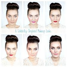 6 celebrity inspired day and night makeup looks