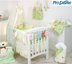 10 pcs anti allergy bedding set to fit cot cot bed pillow duvet canopy holder