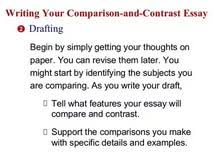 topic sentence compare contrast essay biology as level topic sentence compare contrast essay