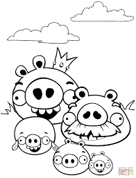 Angry Birds Valentine Coloring Pages Chrismast And New Year 2019