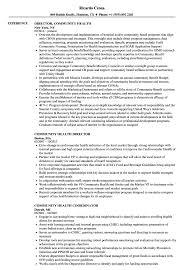 Community Health Representative Sample Resume Community Health Resume Samples Velvet Jobs 18