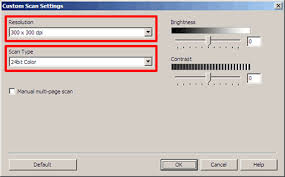 When I Scan A Document Using Controlcenter The Scanned File Size Is