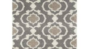 grey and cream area rug modern world gallery cozy moroccan trellis gray 7 ft 10 in x pertaining to
