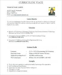 Best Resumes Format Simple Resumes For Freshers Best Freshers Resume Format Best Resume Best