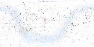 Messier Chart With Double Stars H Paul Honsinger