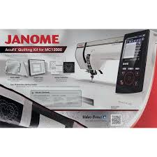 Acufil Quilting Designs Janome Acufil Quilting Kit With Square Quilting Hoop