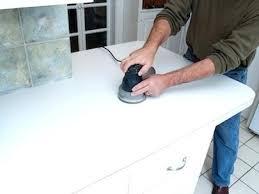 how to resurface laminate sanding detail refinish formica countertops refinishing look like granite