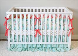 mint and gold bedding elegant mint fl baby bedding pink mint turquoise and gold baby