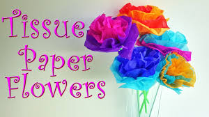 How To Make A Flower Out Of Tissue Paper Step By Step Diy Crafts How To Make Tissue Paper Flowers Easy Ana Diy Crafts
