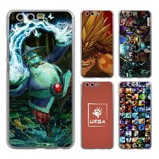 dota 2 storm hero style clear mobile phone case cover for huawei