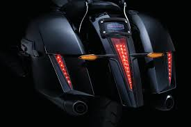 black sabertooth lights installed victory cross country