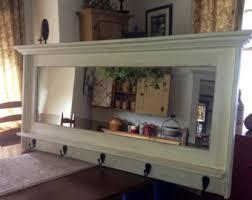 Coat Rack With Mirror And Shelf Mirror coat rack Etsy 13
