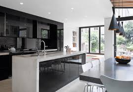 modern black kitchen cabinets. Modren Kitchen Blackkitchenideasfreshome8 Throughout Modern Black Kitchen Cabinets N