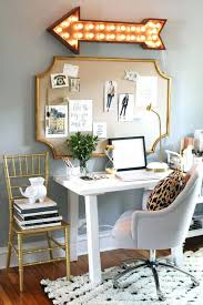 chic office space. How To Decorate Your Office Space At Home Chic With Light Up Arrow Sign
