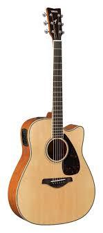 <b>Гитара электроакустическая</b> с вырезом серии FGX <b>YAMAHA</b> ...