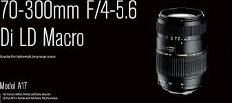 <b>AF 70</b>-<b>300mm</b> F/4-5.6 Di LD Macro | <b>Tamron</b>
