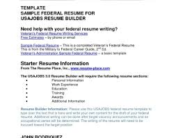 How To Write Federal Resume Writer Usa Guidelines Requirements