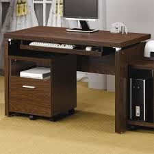 coaster furniture  peel computer desk with keyboard tray in
