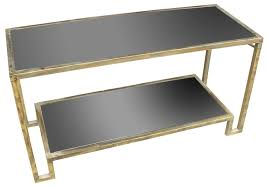metal black glass console table gold sagebrook home gold metal console table uk