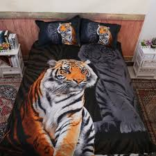 animal 3d tiger comforter bedding sets king twin queen size family bed cover linen luxury duvet