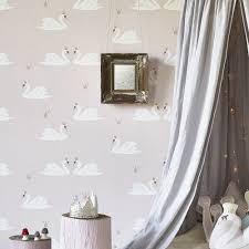Kids Bedroom Wallpapers Childrens Designer Wallpaper And Wallpaper For Nurseries Hibou Home