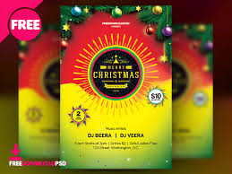 Christmas And New Year Flyer Template By Mohammed Shahid - Dribbble