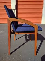 4 kai kristiansen designed dining chairs newly recovered
