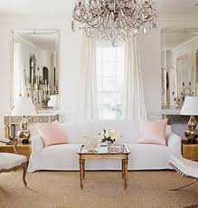 Mirror For Living Room Classic Living Room Decorating Ideas With Glamorous Silver Framed