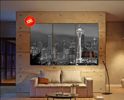 seattle canvas art prints large wall art black by canvasconquest on seattle wall art prints with seattle canvas art prints large wall art black by canvasconquest