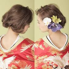 Hair Arrange ロングヘアでも ボブをたのしむ スタイル プレ花嫁