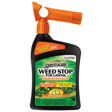 Image For Lawns Spectracide Weed Stop 32 Oz Ready To Spray Concentrate For Lawns Plus Crabgrass Lawns