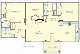 4 bedroom house plans no garage fresh small home plans with garage attached triplex house plans