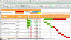 create microsoft excel project schedule