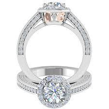 design your own engagement ring setting allurigem