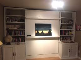 custom made murphy bed and wall unit