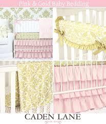 amusing pink and gold baby bedding caden lane and pleasing pink and gold baby bedding