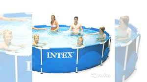 <b>Каркасный бассейн intex 28210</b> metal frame 366X76см купить в ...