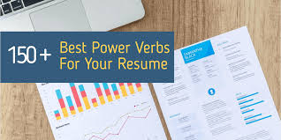 Best 150 Power Verbs To Level Up Your Resume Qwikresume Com