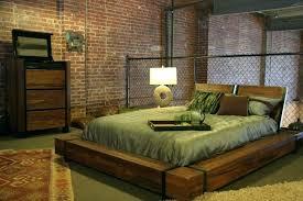 Industrial style bedroom furniture Print Industrial Style Bed Industrial Chic Wood Platform Bed Industrial Bedroom Industrial Style Bedroom Furniture Ezen Industrial Style Bedroom Furniture Webstechadswebsite