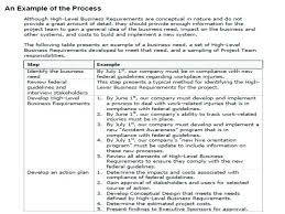 High Level Business Requirements Document Template Functional And ...
