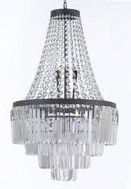 inspiration about g7 11009 gallery chandeliers retro odeon crystal glass fringe 3 intended for 3 tier