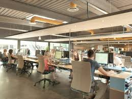 open office ideas.  Office Design Cool Office Stuff Oak Table Cafeteria The Open  Space I Bgbc Intended Ideas