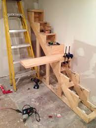 how to build floating stairs handy father build floating
