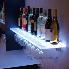 nice led shelves for bar liquor glass australia uk diy canada
