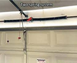 installing garage door springs removing garage door spring cost to install garage door garage doors garage installing garage door springs