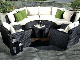 literarywondrous round sectional patio furniture photo inspirations imposing round sectional patio furniture pictures concept