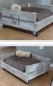 dog bed ideas. Contemporary Dog SHABBY CHIC CRATE DOG BED Inside Dog Bed Ideas S