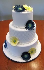 Gerbera Daisy Wedding Cake Cakecentral Com